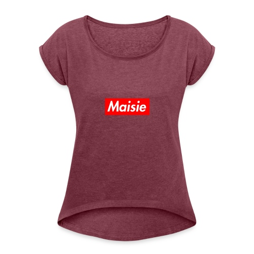 Maisie Supreme - Women's T-Shirt with rolled up sleeves