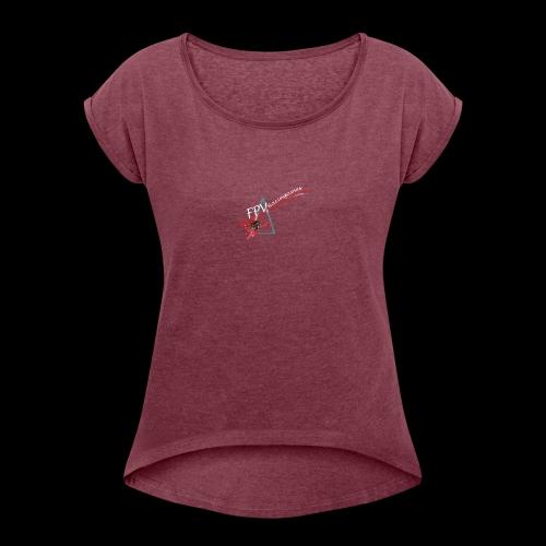 L'Original FPVRacinggames - T-shirt à manches retroussées Femme