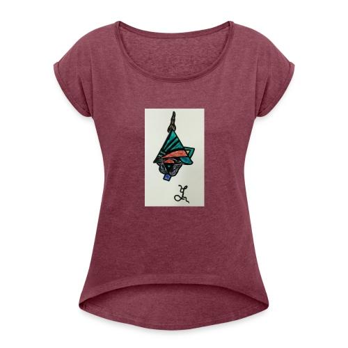 SPIRIT - T-shirt à manches retroussées Femme