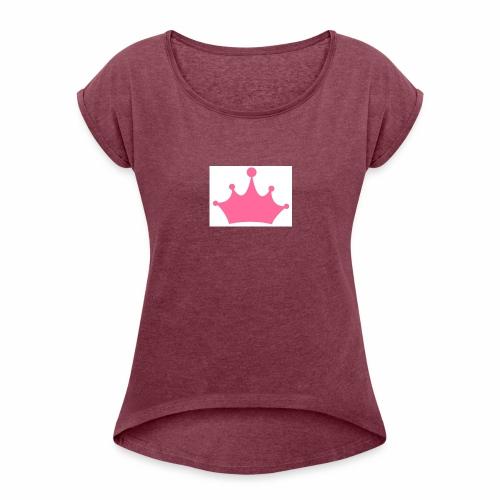 corona - Maglietta da donna con risvolti