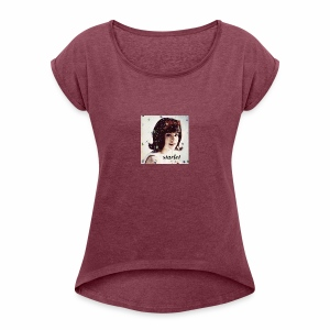 starlet - Women's T-shirt with rolled up sleeves