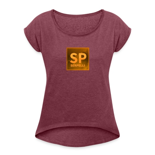 MAGLIETTA LOGO SERPELLI - Maglietta da donna con risvolti