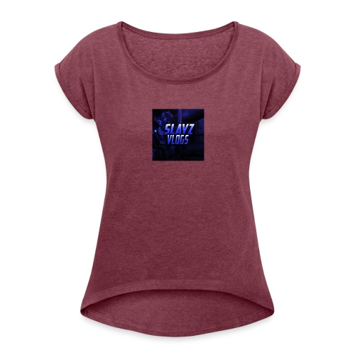 VLOGS - Women's T-Shirt with rolled up sleeves