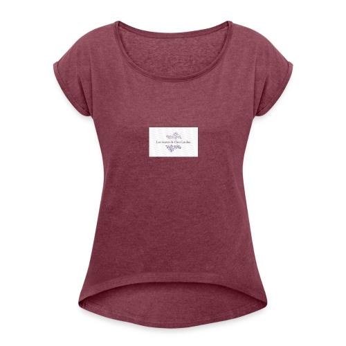 Les Ventes De Chez Loulou - T-shirt à manches retroussées Femme