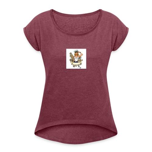 matelote - T-shirt à manches retroussées Femme