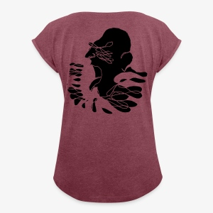 Surreal Figure 3 - Women's T-shirt with rolled up sleeves