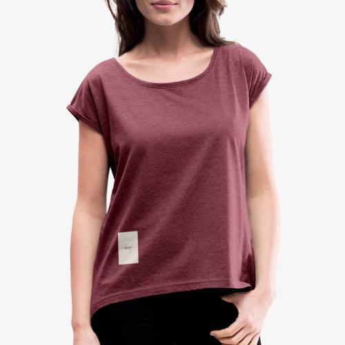 Dynamic - Frauen T-Shirt mit gerollten Ärmeln
