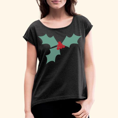 Common holy - T-shirt à manches retroussées Femme