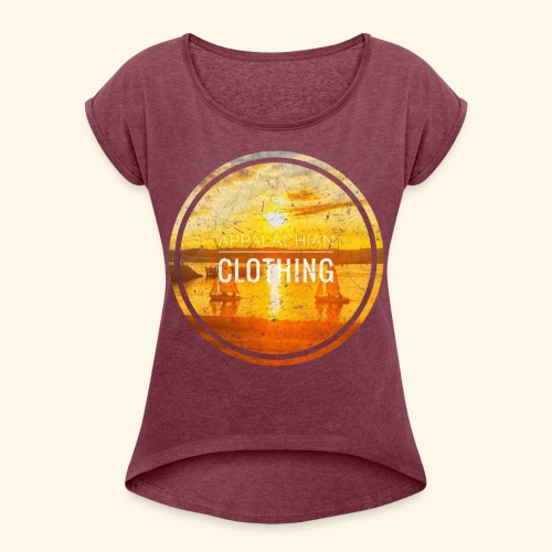Sail Away - Women's T-Shirt with rolled up sleeves