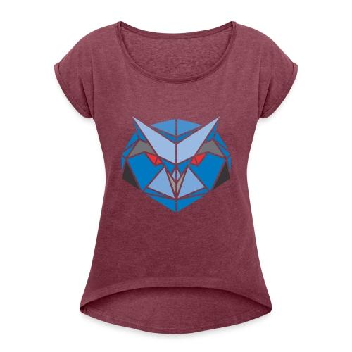 Cedii Kingsley - Frauen T-Shirt mit gerollten Ärmeln
