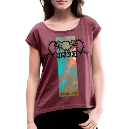 sanctuary - Frauen T-Shirt mit gerollten Ärmeln