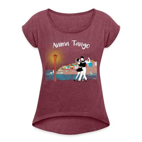 animatango001 copie png - T-shirt à manches retroussées Femme