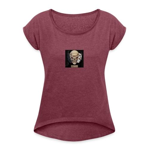 swag - Frauen T-Shirt mit gerollten Ärmeln
