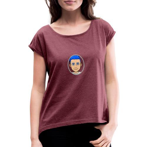 prank GAGS - Vrouwen T-shirt met opgerolde mouwen