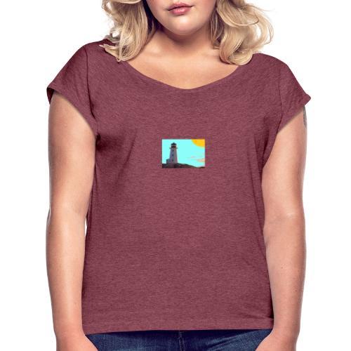 fantasimm 1 - Maglietta da donna con risvolti