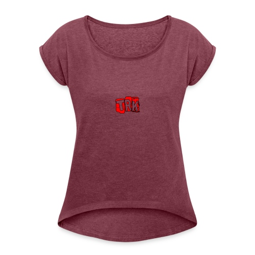 Trial Merch - Women's T-Shirt with rolled up sleeves