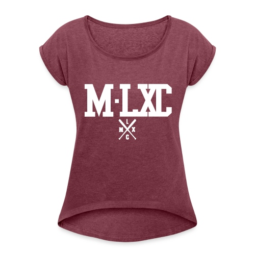 PAck png - Frauen T-Shirt mit gerollten Ärmeln