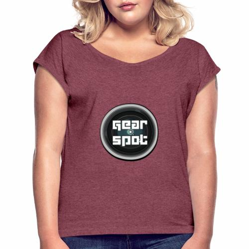 Gear Spot vintage shirt - Women's T-Shirt with rolled up sleeves