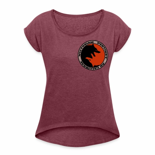 Fox Resistance - Women's T-Shirt with rolled up sleeves
