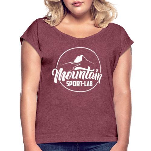 BLANC MOUNTAINSPORTLABgrand - T-shirt à manches retroussées Femme