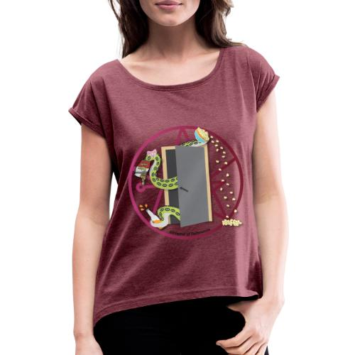 Save Some For Me - Women's T-Shirt with rolled up sleeves