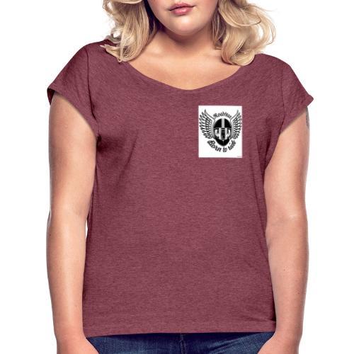 RoadStar - T-shirt à manches retroussées Femme