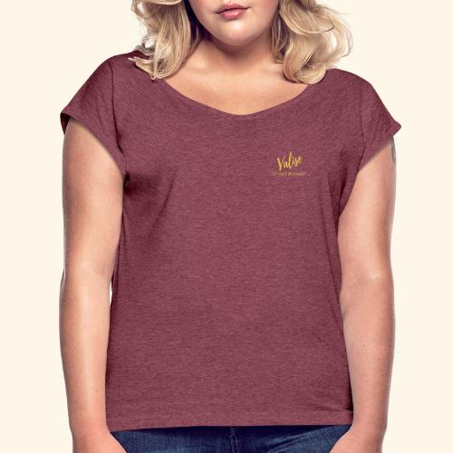 Valise Color - T-shirt à manches retroussées Femme