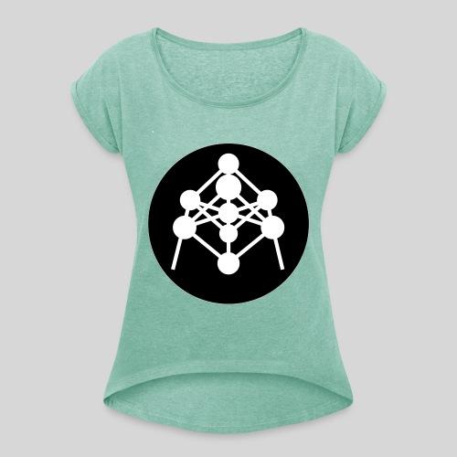 Atomium - T-shirt à manches retroussées Femme