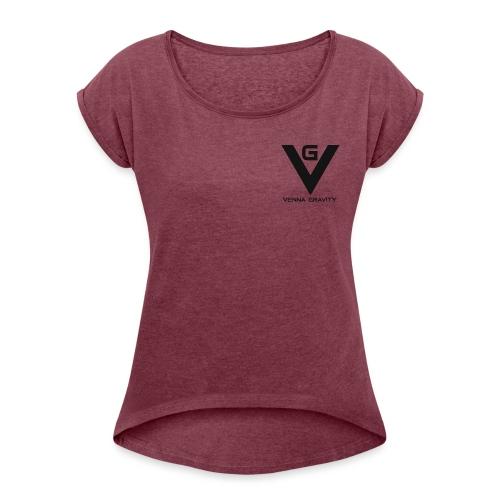 Logo venna gravity - T-shirt à manches retroussées Femme