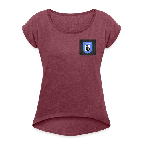 Safety Crew Merch - Women's T-Shirt with rolled up sleeves