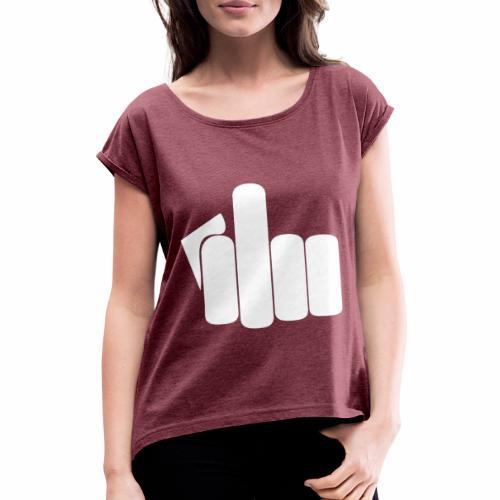 fuck2 - T-shirt à manches retroussées Femme