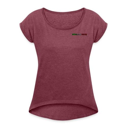 SocialGameClubShop - Maglietta da donna con risvolti