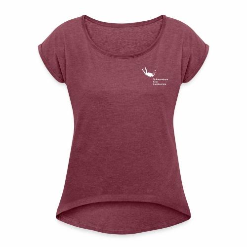 Natural Evolution dos et SCL full text devant - T-shirt à manches retroussées Femme