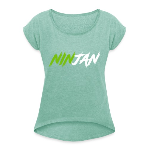 spate - Women's T-Shirt with rolled up sleeves