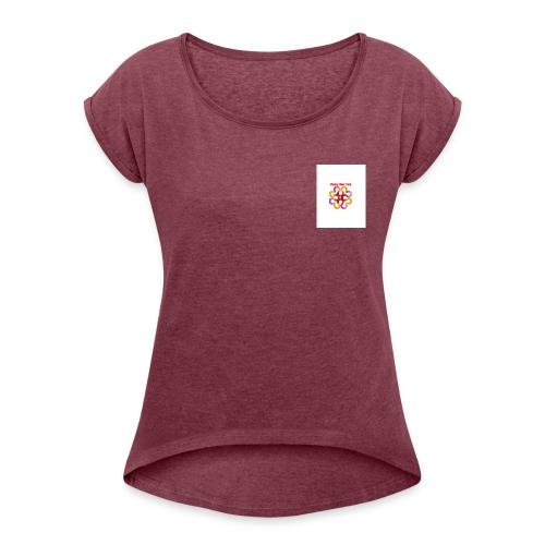 20181025 164414 - T-shirt à manches retroussées Femme