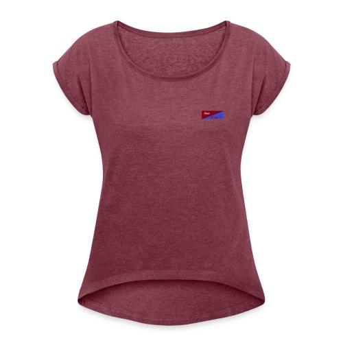 Dean Thomson - Frauen T-Shirt mit gerollten Ärmeln