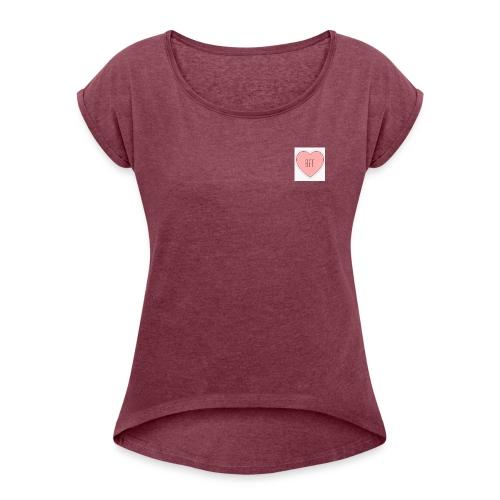 BFF Produkte - Frauen T-Shirt mit gerollten Ärmeln