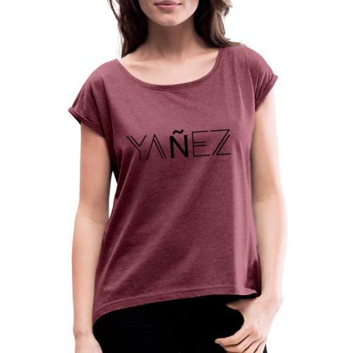 Yañez-YZ - Frauen T-Shirt mit gerollten Ärmeln