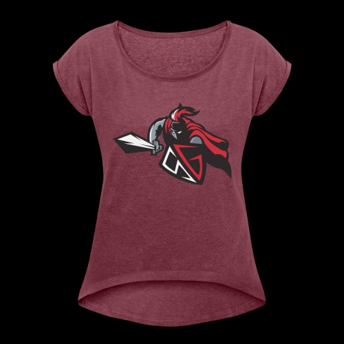 The Gladiator - Women's T-Shirt with rolled up sleeves