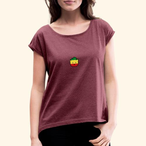 Little Rasty - T-shirt à manches retroussées Femme