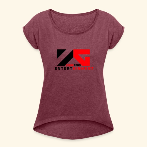 Tjenspenn Merchandise - T-skjorte med rulleermer for kvinner