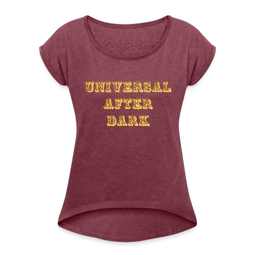 UAD carnival - Women's T-Shirt with rolled up sleeves