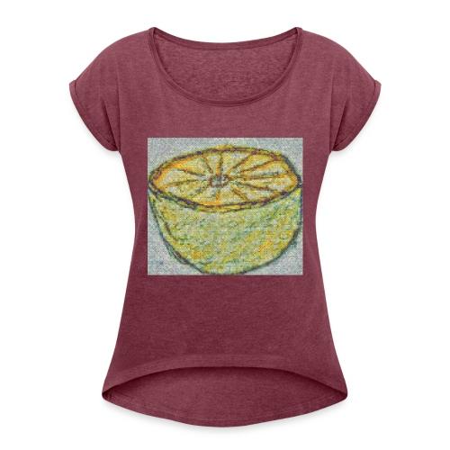 Lemonade - T-shirt à manches retroussées Femme