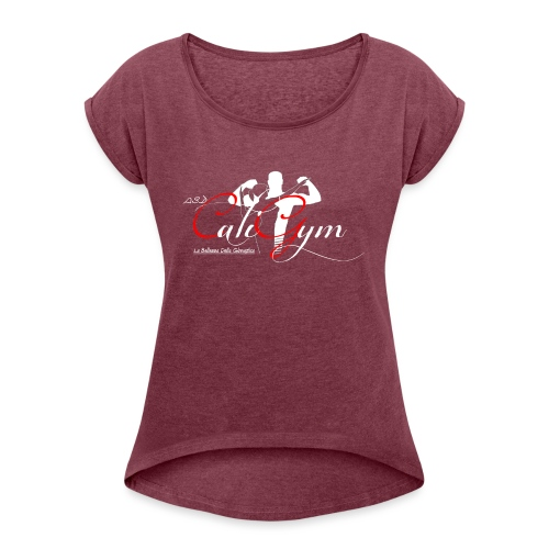 Cali Gym_2 - Maglietta da donna con risvolti