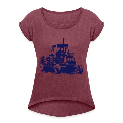 1486 - Women's T-Shirt with rolled up sleeves