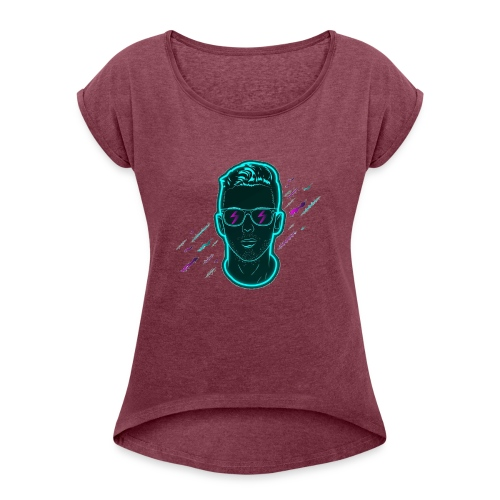 GREG DELA - T-shirt à manches retroussées Femme