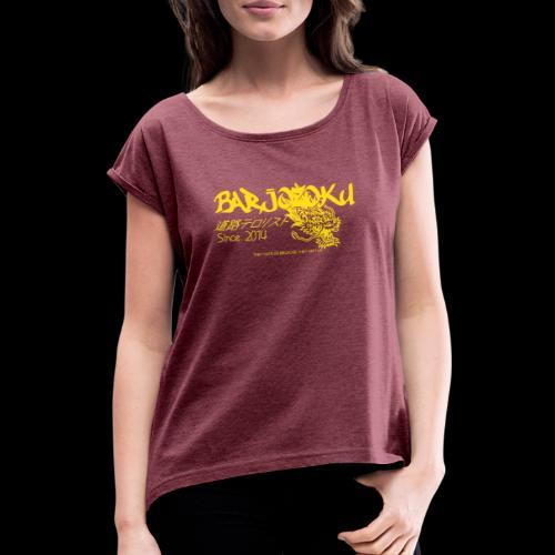 Dragonzoku - T-shirt à manches retroussées Femme