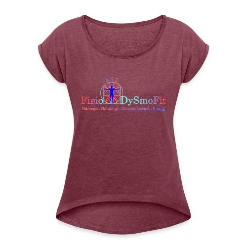Logo FisioDysmofit - Maglietta da donna con risvolti