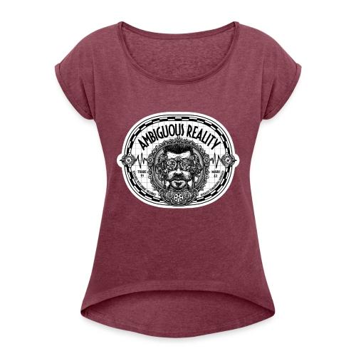 Ambiguous Reality - Frauen T-Shirt mit gerollten Ärmeln