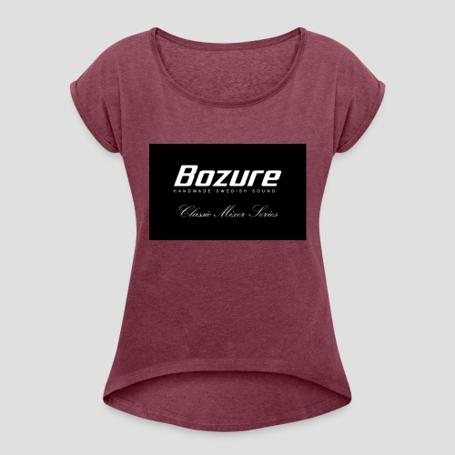 Test 2 - Women's T-Shirt with rolled up sleeves